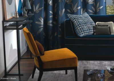 Möbelstoffe in angesagten Farben