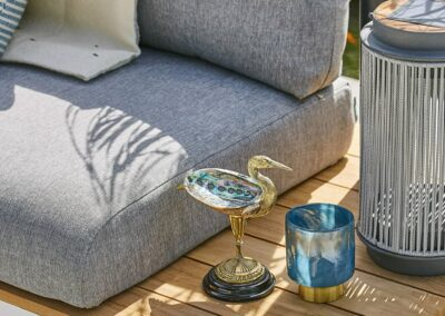 Outdoor-Möbelstoff im Detail