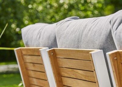 Widerstandsfähige Outdoor-Möbelstoffe