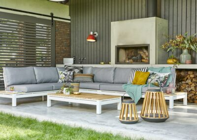 Moderne Outdoor-Lounge