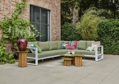 Terrassenmöbel mit strapazierfähigen Outdoor-Stoffen