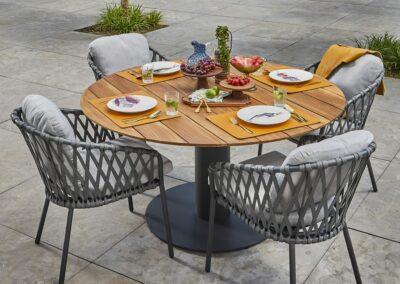 Sitzkissen aus robustem Outdoor-Stoff