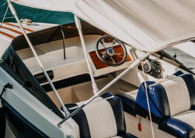 Wasserfeste Bootspolsterung